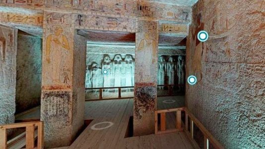 Activități online – Tur virtual 3D în Egiptul antic