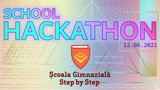 Step by Step School Hackathon – 12 iunie 2021